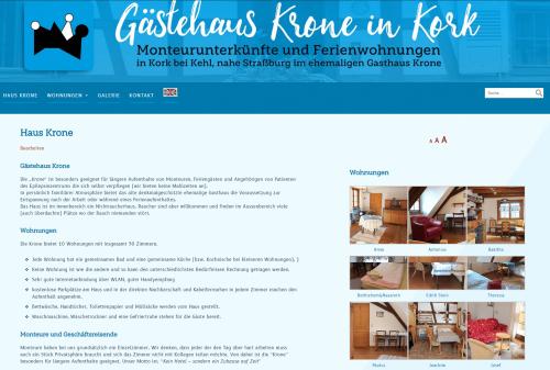 Website Krone WordPress 2020
